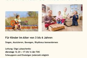 Musikzwergli - elementares Musizieren
