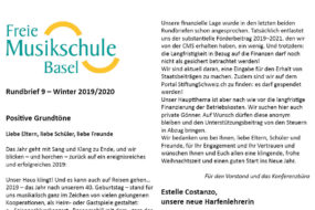 Rundbrief Sommer 2020